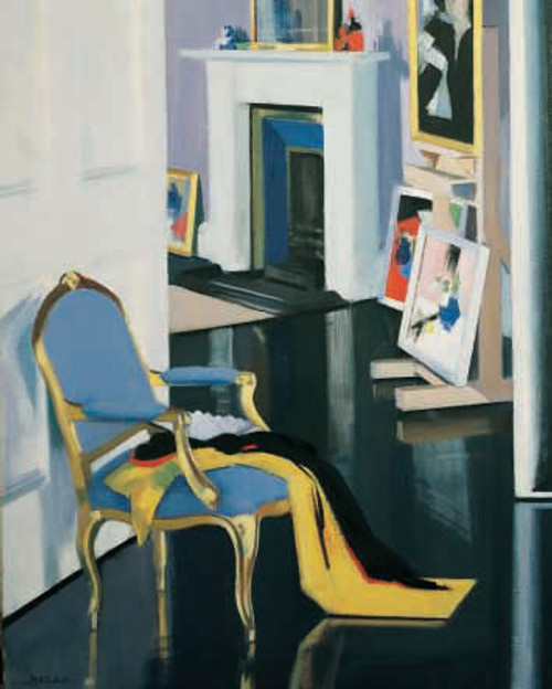 The Gold Chair is an Open Edition decorative print  by Scottish artist F.C.B Cadell