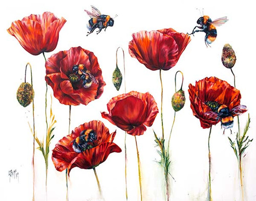 Where Poppies Grow by Georgina McMaster