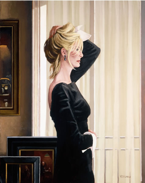 Black On Blonde by Jack Vettriano