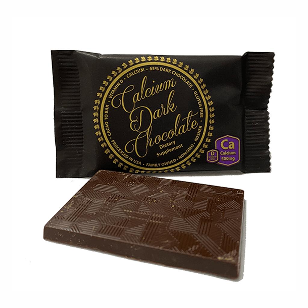 Creamy Calcium Dark Chocolate 500 mg Calcium Plus 500 IU Vitamin D