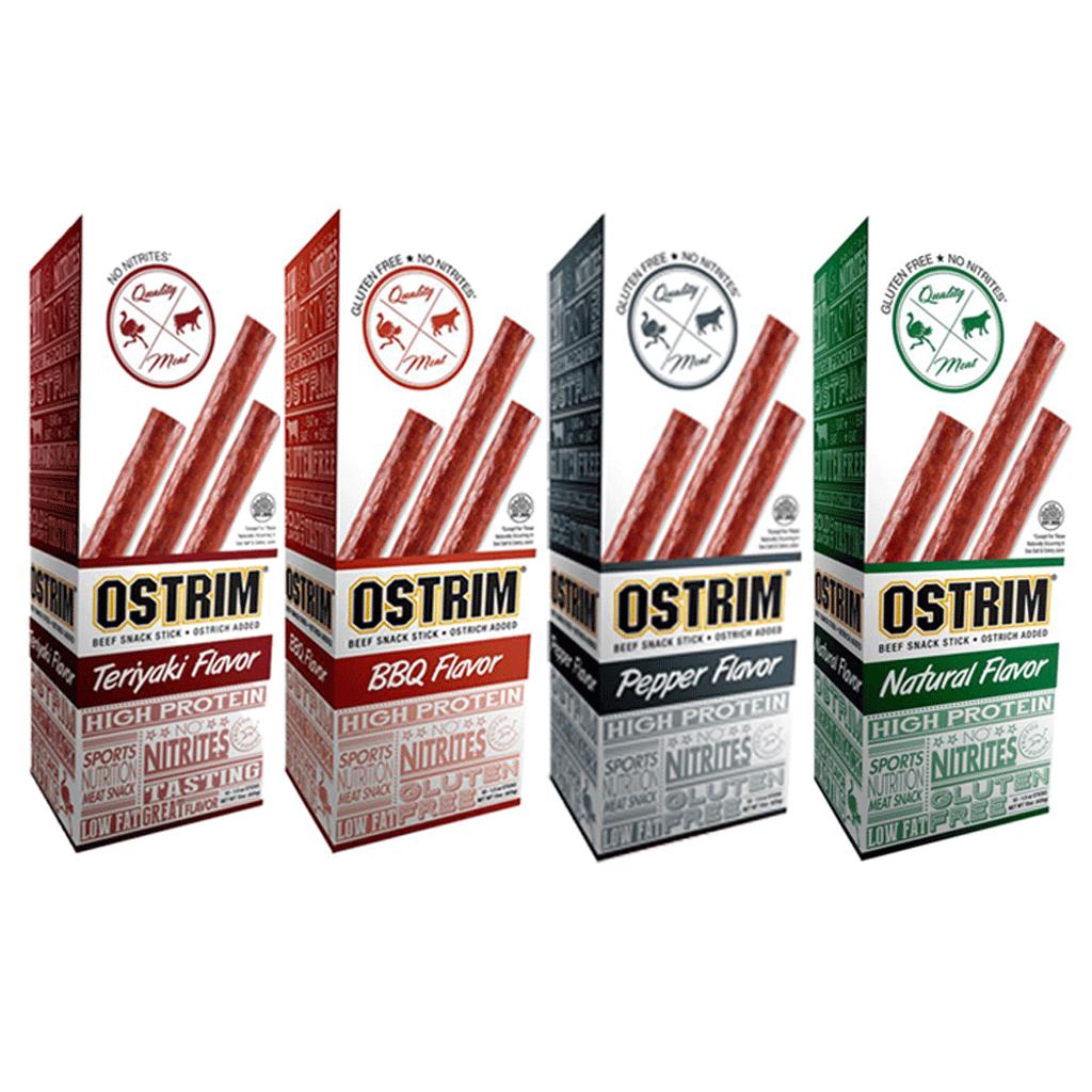 OSTRIM Beef & Ostrich l Snack Sticks