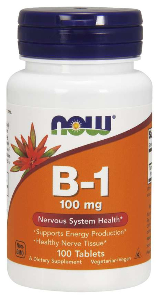 Now Foods | B-1 | 100mg Tablets