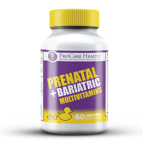 First and only Prenatal Vitamin specifically designed for those that have undergone bariatric surgery!
