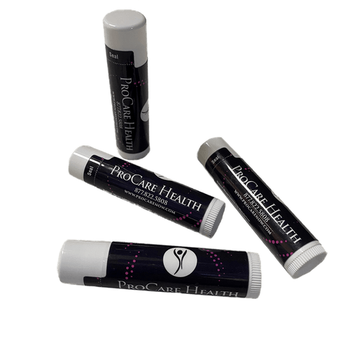 All Natural Lip Balms in 3 great flavors.   Made with Beeswax, Shea Butter, and Vitamin E.   .16oz