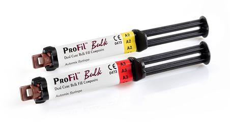 ProFil Dual Cure Bulk Fill Composite Automix Syringe 5ml