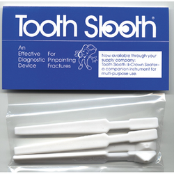 Tooth Slooth Fractured Tooth Detector White 4/Bx