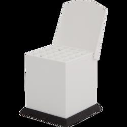 Cotton Pellet Dispenser Small White