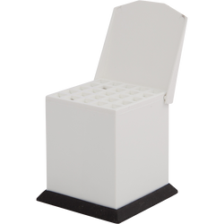 Cotton Pellets Dispenser Medium White