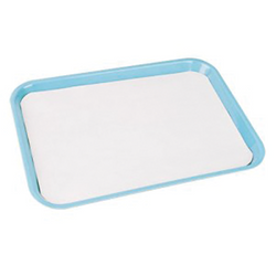 "Tray Covers White 7"" x11"" 1000/Box"