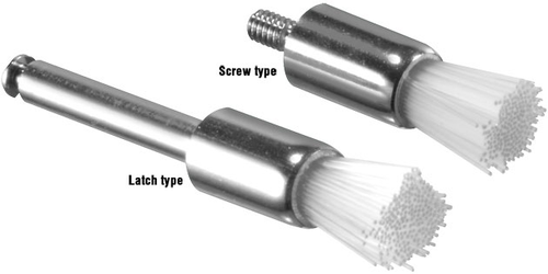 Prophy Brushes Screw On Type Flat 144/Pack