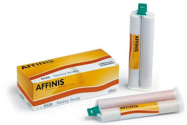 Affinis Heavy Body Regular Tray 2x75ml Cartridges