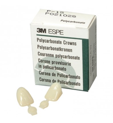 Polycarbonate Crowns 5/Box 3m-espe
