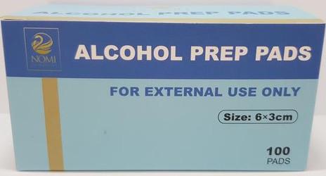 Sterile 70% Alcohol Prep Pad (2-Ply, 200/Box)