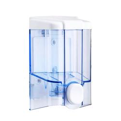 Push Button Wall Mount Sanitizer/Soap Dispenser (17 Fluid Oz / 500ml)