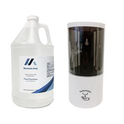 Liquid Hand Sanitizer 1 Gallon + 1 Auto Dispenser