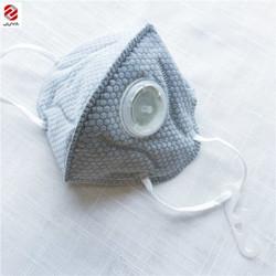 Premium KN95 WHITE Masks With Valve *** 5/Pk **