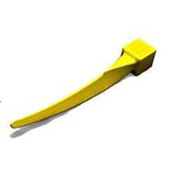 G-Wedge Yellow Refills - X-small, 100/Pk