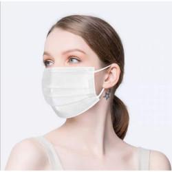 Daily Protective White Ear Loop Masks 50/Box