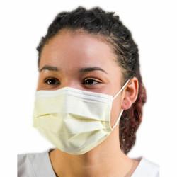 Daily Protective Yellow Ear Loop Masks 50/Box