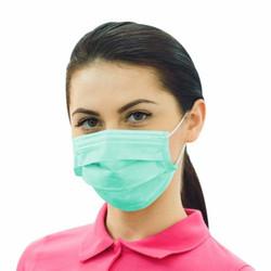 Daily Protective Green Ear Loop Masks 50/Box