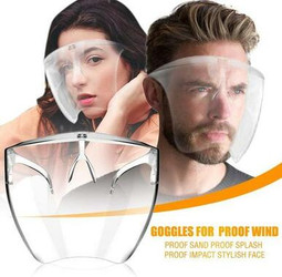 Revolutionary High Transparency Anti Fog Face Shield