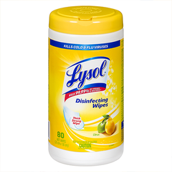 Lysol Disinfecting Wipes (1 x 80/Can, Citrus)