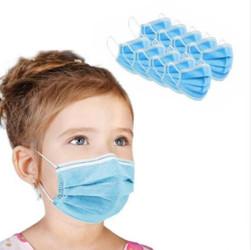 Ear Loop Face Masks Kids Size (50/Pack)