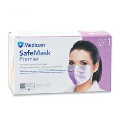 SafeMask Premier Earloop 50/Box Lavender, Level 1