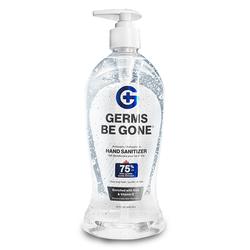 Germs Be Gone 75% Alcohol Hand Sanitizer 15oz Bottle