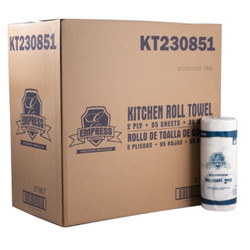 Case of 30 Kitchen Towels 2-Ply 85 Perforated Sheets in a Roll