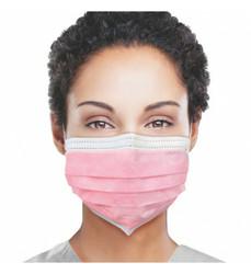Daily Protective Pink Ear Loop Masks 50/Box