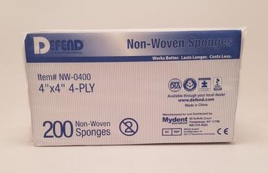 Gauze (Sponges) Non-Woven 4x4