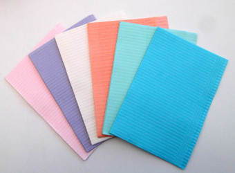 Bibs 3 Ply Blue 500/Case