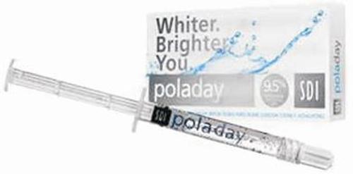 Poladay 9.5% Hydrogen Peroxide 50x1.3g Syringe Kit