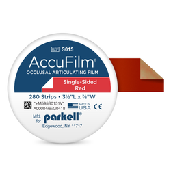 AccuFilm I Roll Strips Single Sided
