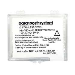 """ParaPost P44 Stainless Steel Refill Posts -  Size 7 (.070""""), Green, 10/Pkg"""