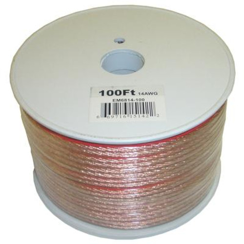 100 Feet 2 Wire Speaker Cable with 14 Gauge