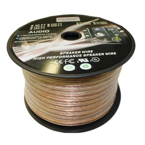 200 Feet 2 Wire Speaker Cable with 14 Gauge