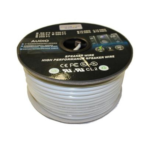 250 Feet 2 Wire Speaker Cable with 12 Gauge