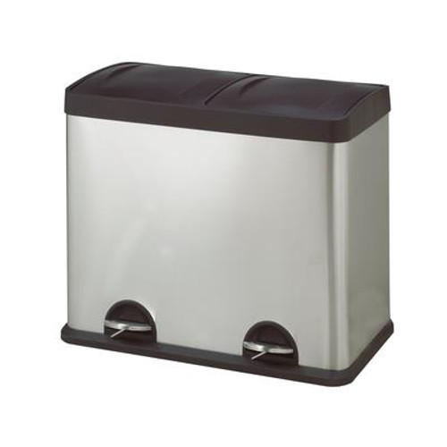 2-Compartment Waste/ Recycling Bin 48L