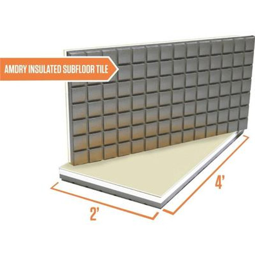 Amdry Insulated Subfloor panel - TILE
