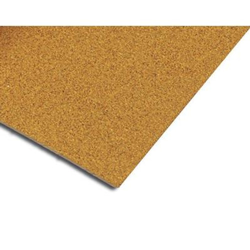 1/2 Inch Natural Cork Underlayment for Sound Reduction; 2 Feet x 3 Feet Sheets (25 Sheets)