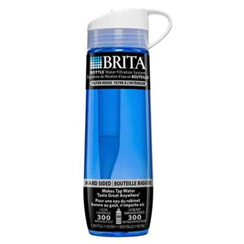 Brita Hardsided Bottle Blue