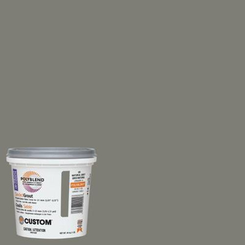 #09 Natural Gray Sanded Grout 1 Lb.