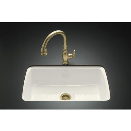 Cape Dory Undercounter Kitchen Sink in Biscuit
