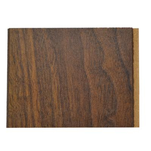 Laminate Sample 4 Inch x 4 Inch; 10MM Dark Walnut