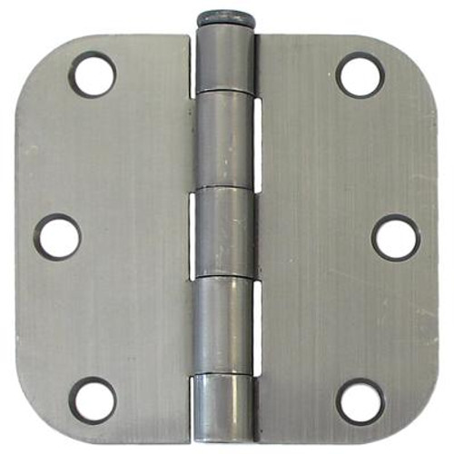 3 Inch  Antique Pewter 5/8rd Door Hinge 2pk