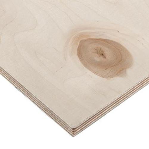 11.5 mm (1/2 inches) x 2 Feet x 4 Feet Russian Birch Handy Panel