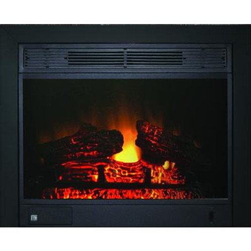 23 Inch Insert With Black Integrated 3-sided Trim Kit