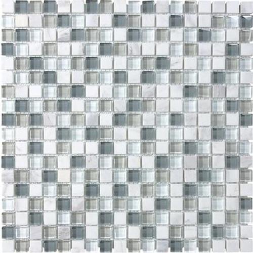 5/8 X 5/8 Moonstone Glass Blend